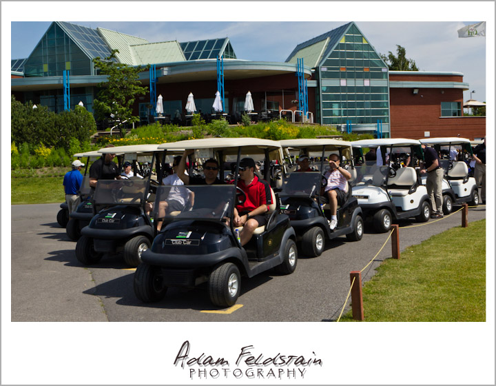 Montreal Event photogrphy photo of Quebec Lung Association 2012 golf tournament 1