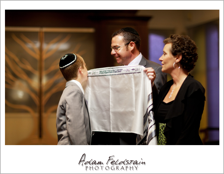 Montreal Photography - Picture of Bar-mitzvah boy #5