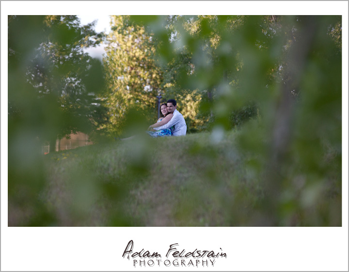 Khizr & Adriana on a hillside - Photojournalism